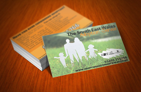 Adoption Service Business Cards