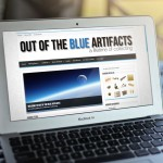 Out Of The Blue Artifacts Website Design