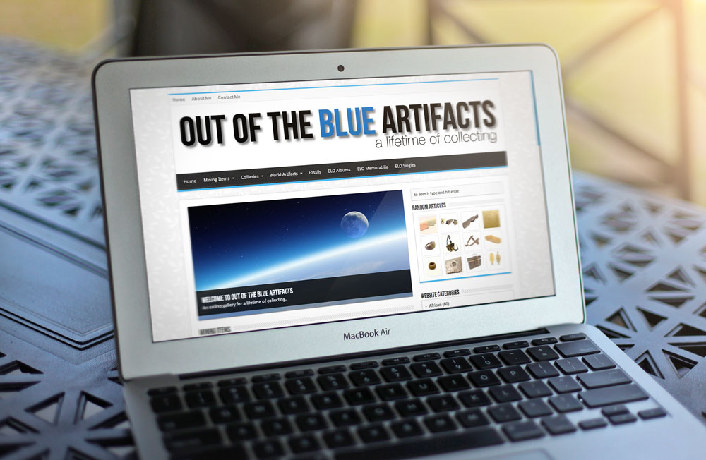 Out Of The Blue Artifacts Website