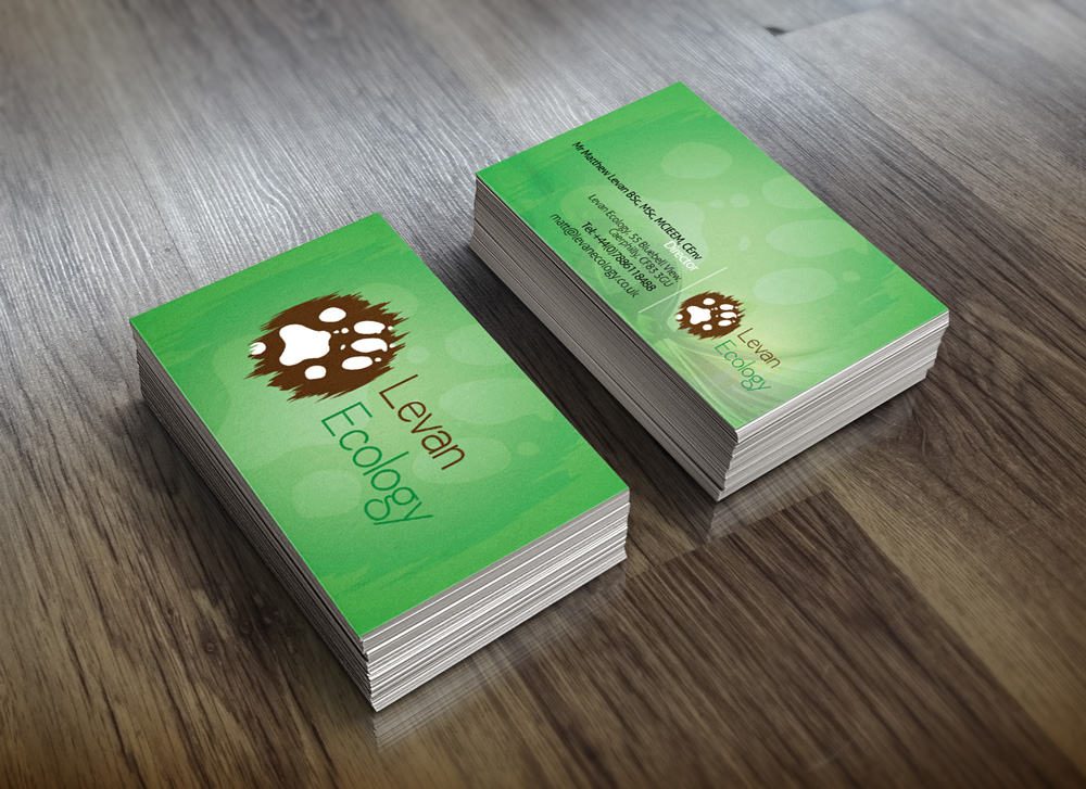 Levan Ecology Business Cards