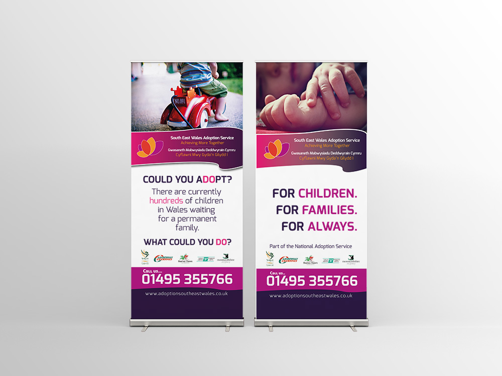 Adoption Rollup Banners