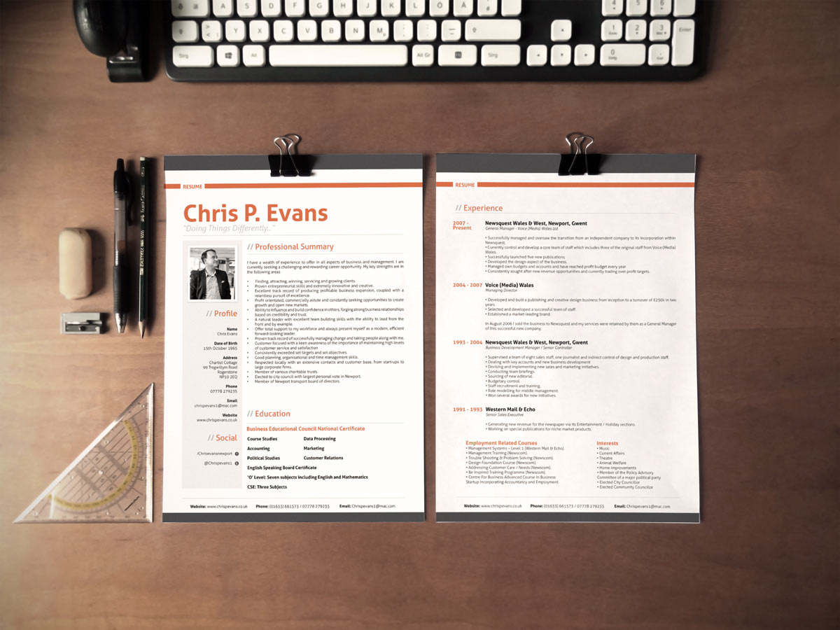 Chris Resume Nmdnconference Example Resume And Cover Letter