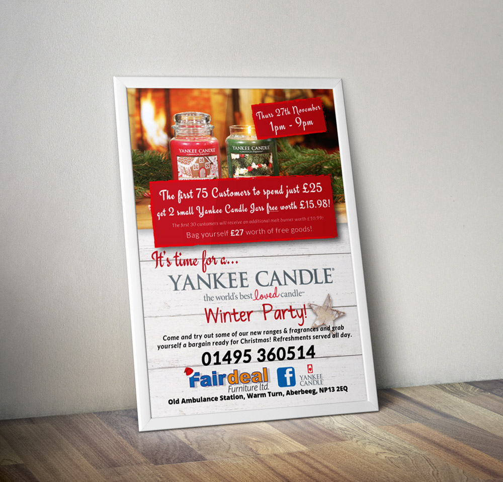 Yankee Candle Poster