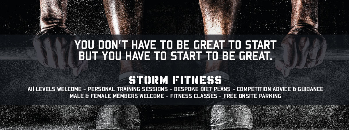 Storm Fitness Banner