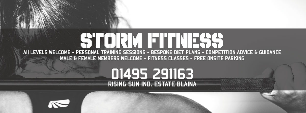 Storm Fitness Banner 2